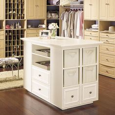 RONA carries supplies for your Build a closet island projects. Find how to help your home improvement project. Build A Closet, Build A Wardrobe, Wardrobe Storage, Kitchen Island Building Plans, Diy Kitchen Island, Outdoor Wood Projects, Closet Island, Master Bedroom Closet, Home Upgrades