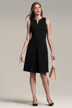 MM LaFleur The Cherie Dress (in Black)