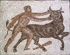 Mosaico Trabajos Hércules #Toreo