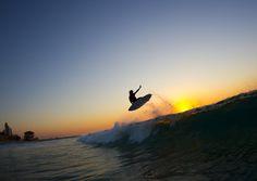 Craig Anderson making the most of daylight saving.  quiksilver.com/surf #QuikSurf  Photo: Respondek