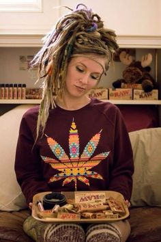 my dreads are short right now, but Id kill to have them crazy like this. and Im debating on dying them