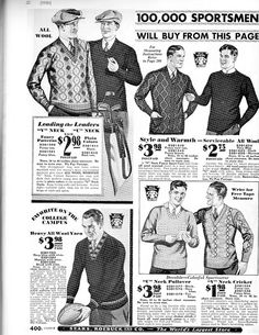 1930's men's fashion | Mens 1930's fashion | Flickr - Photo Sharing!