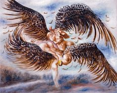 Alberto Savinio, Fighting Angels, 1930