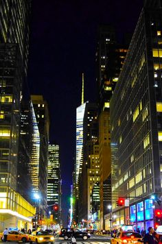 NYC. 42nd Street, looking west