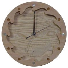 木工作品集 243 Woodcraft works portfolio 243 2012年 #木の時計 #さかなのデザイン #WoodenClock #fishdesign 時針の透明なさかなが波間を飛んで回る回る時の魚 The transparent fishe as the minute-hand goes round the wave. A fish of time. http://ift.tt/1Nq0R26