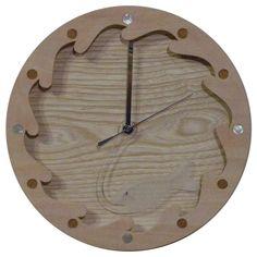 木工作品集 243 Woodcraft works portfolio 243 2012年 #木の時計 #さかなのデザイン #WoodenClock #fishdesign 時針の透明なさかなが波間を飛んで回る回る時の魚 The transparent fishe as the minute-hand goes round the wave. A fish of time. http://ift.tt/1Nq0R26