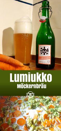 Lumiukko, das Bier mit Möhren von Möckernbräu.