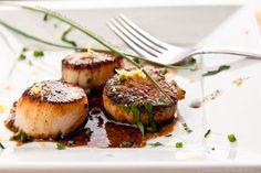#seafood #scallops