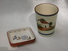 Vintage English Motto Ware or Torquay Pottery by RedoneAndVintage, $18.00