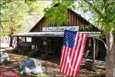 Gilbert Cafe in Gilbert, Arkansas on the Buffalo National River Best pancakes ever - when they have milk.