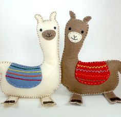 DIY llamas ..Cute:)