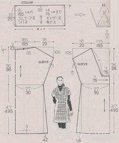 Free Pattern Draft: Dress/Tunic from www.club.osinka.ru Выкройки Бесплатно, Бесплатный Пошив, Выкройки Для Одежды, Выкройки Одежды, Бесплатный Шаблон, Простые Швейные Поделки, Моделирование, Шить