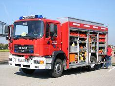 MAN ME 280 B Feuerwehr mit Aufbau von Schmitz