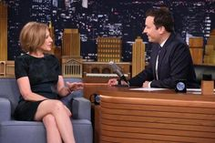 Carly Fiorina keeps a (mostly) straight face on 'The Tonight Show' with Jimmy Fallon