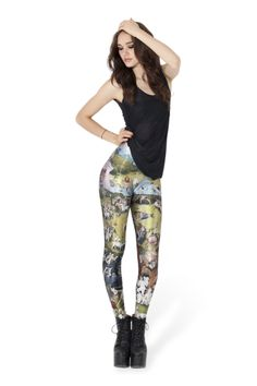 Earthly Delights Leggings › Black Milk Clothing WANT. THEM. SO. BAD.