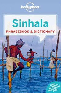 A pocket guide and dictionary to the language of Sri Lanka for travelers.