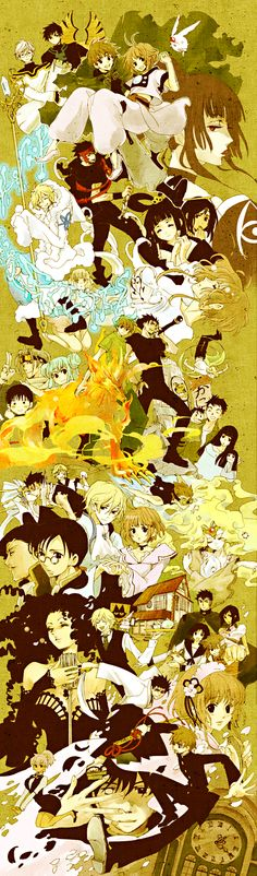 Tsubasa Reservoir Chronicle by CLAMP / all time favorite manga (despite the ending)