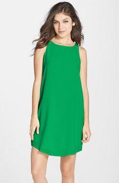 BB Dakota 'Colleen' Sleeveless Shift Dress | Nordstrom