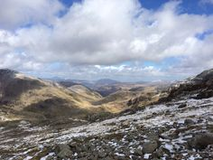 From the top of Scafell pike