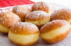 Traditional Carinthian Carnival Donuts