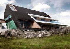 Contemporary Architecture Edge House by Mobius Architects Poland