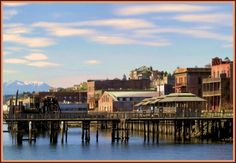 Port Townsend, Washington:  I lived there for seven years.  What a dream of a small town.  It was magical......Washington road trip
