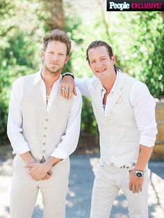 "PHOTOS: Inside Tyler Hubbard and Hayley Stommel's Big Wedding Day | BANDMATES & BEST FRIENDS | ""[Brian] and I have really become best friends over the last six years,"" says Hubbard of Brian Kelley, the Florida in Florida Georgia Line. ""We've kind of built a family, Hayley and myself and BK and his wife Brittney. It's a special day for all of us to celebrate."""