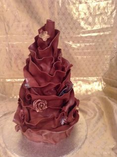 Chocolate wrap - Cake by For goodness cake barlick