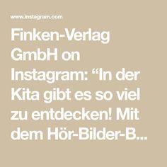 """Finken-Verlag GmbH on Instagram: """"In der Kita gibt es so viel zu entdecken! Mit dem Hör-Bilder-Buch aus unserer Reihe """"Komm zu Wort!"""" gehen die Kinder auf Entdeckungsreise…"""" Math Equations, Instagram, Day Care, Book, Pictures"""