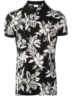 Find out who is wearing Saint Laurent Printed Polo and where to buy it. Men Accesories, Printed Polo Shirts, T Shorts, Long Sleeve Tee Shirts, Golf Shirts, Men Shirts, Burberry Men, Fashion Prints, Cool T Shirts