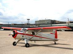 Modell DHC-2 Beaver M 1:2,5. Erstes und weltweit einziges flugfähige Großmodell, gefertigt in originaler Aluminiumbauweise im Maßstab 1:2,5. Sechs Meter Spannweite misst der Nachbau der De Havilland Canada DHC-2 Beaver. Ein 23 PS starker Viertakter beschleunigt das ca. 90 Kilogramm schwere Modell auf gut 100 km/h. Konstruktion und Fertigung: Harald Müller Metall Sonderfertigung GmbH.
