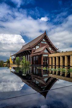 Wanda Vista Xishuangbanna Resort - Picture gallery #chinese #architecture #resort