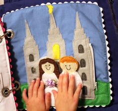I Love to See the Temple - LDS/Mormon  Quiet Book Awesome, but how hard is it to make?