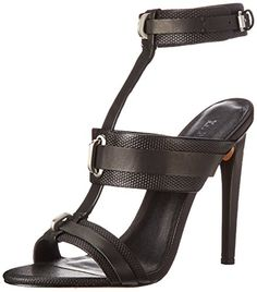 LAMB Womens Bradley Dress Sandal Black 65 M US ** Read more reviews of the product by visiting the link on the image.(This is an Amazon affiliate link and I receive a commission for the sales)