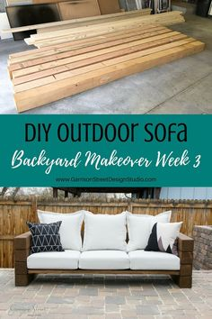 Asti Adirondack Patio Club Chair & Ottoman Set Project 62 - Lounge Seating - Ideas of Lounge Seating - DIY Outdoor Sofa Patio Furniture Ideas of Patio Furniture DIY Outdoor Sofa Budget Patio, Diy On A Budget, Outdoor Patio Ideas On A Budget Diy, Cheap Patio Ideas, Diy Sofa, Cheap Patio Furniture, Rustic Furniture, Furniture Layout, Furniture Stores