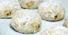 Snowball Pecan Cookies