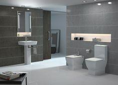 Graue Badezimmer Mit Gemütlichen Und Erstaunlichen Designs. Wasserhahn BadewanneInnenarchitekturErstaunlichBadezimmer ...