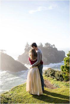 Kristen & Ryan // Oregon Coast Engagement Session — NIKITA LEE PHOTOGRAPHY