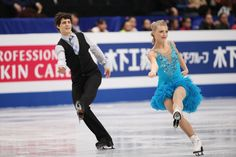 Piper Gilles and Paul Poirier of Canada  compete in the Ice Dance Short Dance during ISU World Figure Skating Championships at Saitama Super Arena on March 28, 2014 in Saitama, Japan.