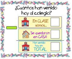 Menta Más Chocolate - RECURSOS y ACTIVIDADES PARA EDUCACIÓN INFANTIL: Carteles de Asistencia para iniciarse en la suma y resta