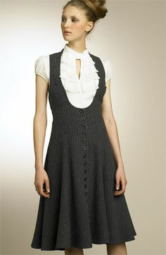 Nanette Lepore Vest Dress available at #Nordstrom