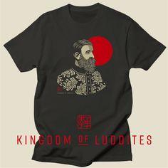 Bearded Philosopher #1 T by Kingdom of Luddites #kingdomofluddites