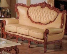 Broyhill Sofa Exquisite Victorian Style Leather Sofas