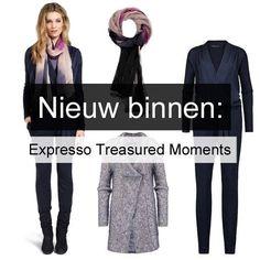 De nieuwe Expresso collectie 'Treasured Moments' is binnen bij Smit Mode!  Jumpsuit Parkdale 016094; Vest Perth 015082; Sjaal Peach 015098