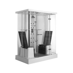 Kabina prysznicowa Duravit multifunkcjonalna.
