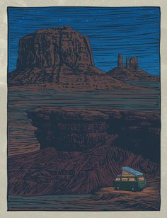 Woodcuts by Mitch Frey: Open_House_2.jpg