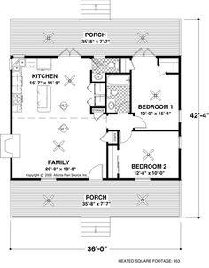 Tiny House Floor Plans | small_house_floor_plan