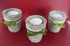 Bildergebnis für windlichter beton Tea Lights, Candle Holders, Candles, Creative, Decorations, Cement, Ideas, Round Round, House