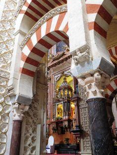 Capilla de la Mezquica Catedral de Córdoba.  www.bodebasmezquita.com