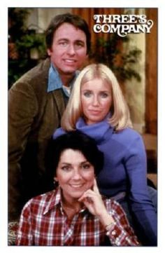 Threes Company poster on sale at theposterdepot. Poster sizes for all occasions. Threes Company Poster for sale. 70s Tv Shows, Old Shows, Great Tv Shows, Best Tv, The Best, John Ritter, Nostalgia, Three's Company, Cinema